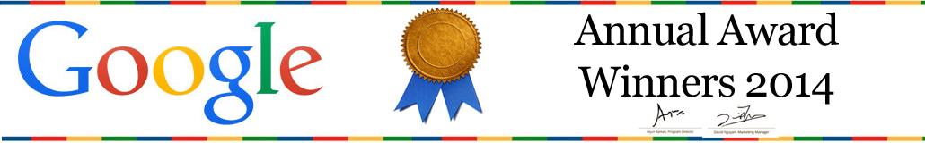 google-award-winning-company