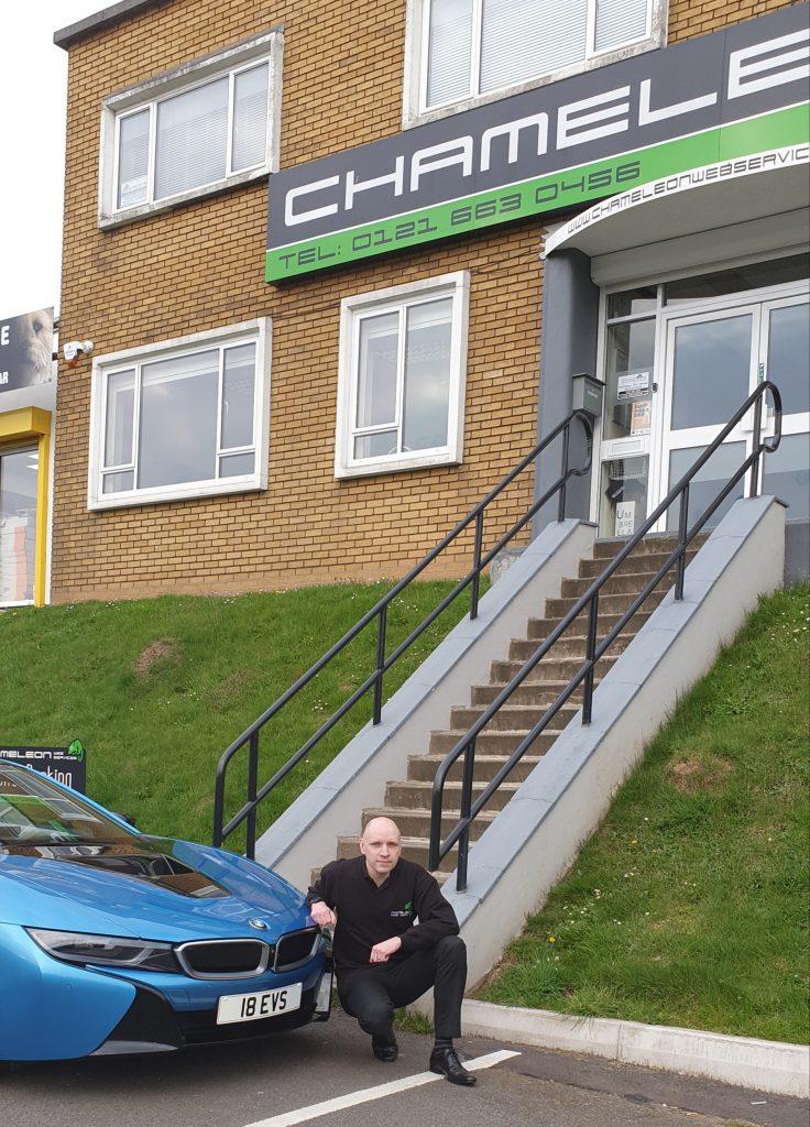 BMW i8 Ian Bevis Chameleon (1)